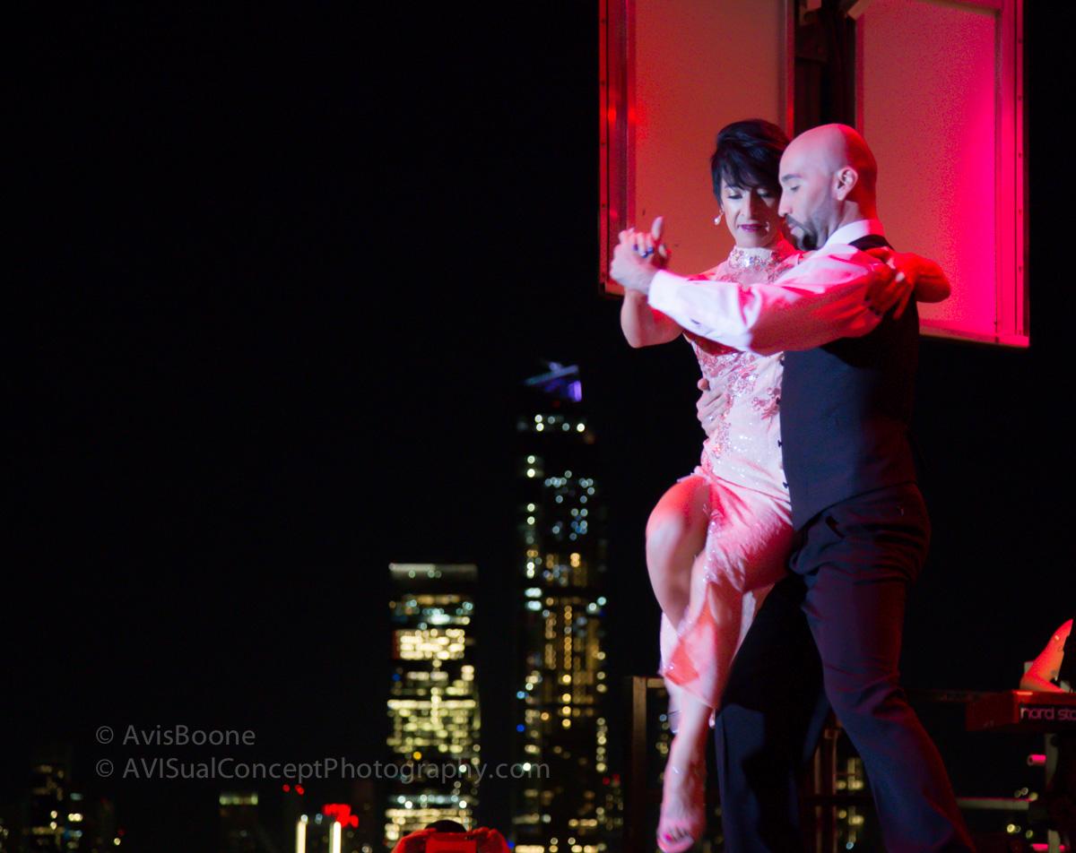 Adriana Salgado and Orlando Reyes
