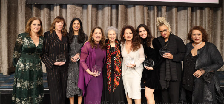 2019 Muse Awards Recipients, NYWIFT President, Jamie Zelermyer and Executive Director, Cynthia Lopez